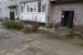 Остекление 6м лоджии с обшивкой с улицы по адресу Гурьевск ул. Зелёная.