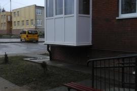 г. Пионерск, ул. Южная, балкон с 5-камерным профилем