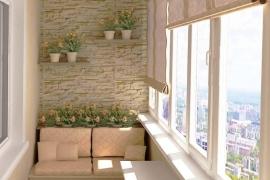 теплый балкон