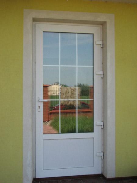фото входной пвх двери