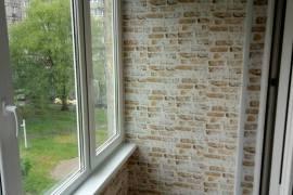 отделка балкона панелями
