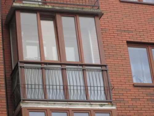 остекление балкона в городе Калининград (фото)