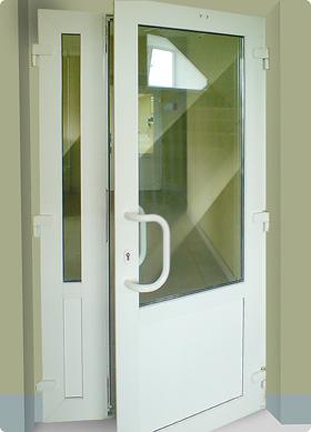 внутренняя пластиковая дверь